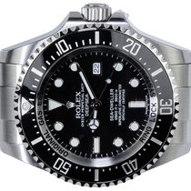 Rolex Sea-Dweller Deepsea Steel 44,00mm Black No numerals