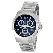 Longines Conquest Blue Chronograph L37024966