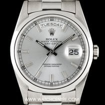 Rolex Platinum Silver Dial Day-Date Gents 18206