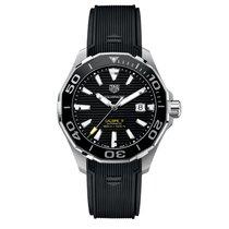 豪雅 (TAG Heuer) Aquaracer Automatic Black Dial Men's Watch