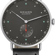 NOMOS Metro 38 Steel 38.5mm Grey United States of America, New York, Airmont