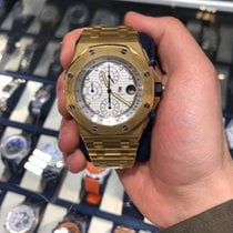 Audemars Piguet Yellow gold Automatic pre-owned Royal Oak Offshore Chronograph