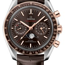 Omega Speedmaster Professional Moonwatch Moonphase Acier 44.2mm Brun