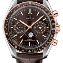 Omega Speedmaster Professional Moonwatch Moonphase Acero 44.2mm Marrón