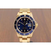 Rolex Submariner 18K Gold 16808 NEW OLD STOCK