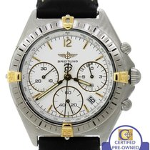 Breitling Sextant Chronomat Chronograph White 36mm B55045 Two...