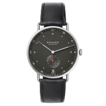 NOMOS Metro 38 Date urban grey - refurbished