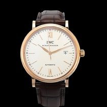 IWC Portofino Automatic Red gold 40.00mm Silver United States of America, California, San Mateo