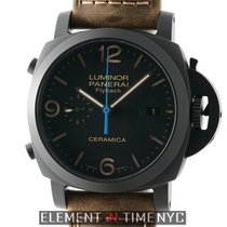 Panerai Luminor 1950 3 Days Chrono Flyback new Automatic Watch with original box and original papers PAM 580