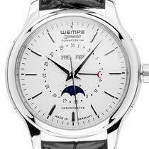 Wempe Chronometer 42mm Automatic pre-owned White
