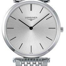 Longines White gold Quartz Silver 33mm new La Grande Classique