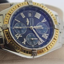Breitling A13355 Gold/Steel 2003 Crosswind Racing 43mm pre-owned United States of America, New York, New York