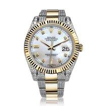 Rolex Datejust II Gold/Steel 41mm Grey No numerals United States of America, New York, New York