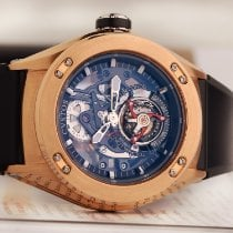 Cvstos Rose gold 50mm Manual winding Challenge-R pre-owned
