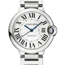 Cartier Ballon Bleu 36mm new 2020 Automatic Watch with original box and original papers Cartier W6920046 Ballon Bleu Unisex Stainless Steel