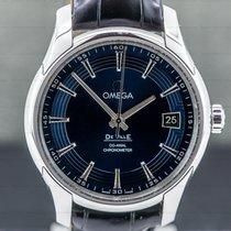 Omega Acél Automata Kék 41mm használt De Ville Hour Vision