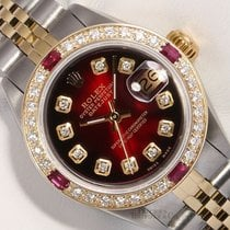 Rolex Lady-Datejust Zeljezo 26mm Crn