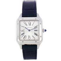Cartier Santos Dumont Steel 43.5mm Silver
