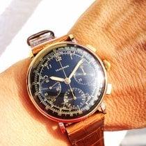 Tavannes Oro rosado 37,5mm Cuerda manual Vintage chronograph usados