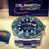 Rolex Submariner 116610LV Green Ceramic Bezel Dial