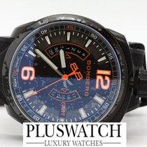 Bomberg BOLT-68 QUARTZ GMT 45MM  BS45GMTPBA.026.3 NEW