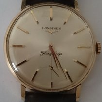 Longines Rose gold 34mm Manual winding Flagship pre-owned