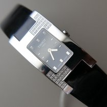 Tissot Steel Quartz Black No numerals 20mm new Bellflower