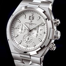Vacheron Constantin Overseas Chronograph Steel 42mm Silver