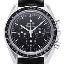 Omega Speedmaster Professional Moonwatch 42 mm Lederband