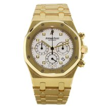 Audemars Piguet 25960BA.OO.1185BA.01 Yellow gold Royal Oak Chronograph 39mm pre-owned United States of America, New York, Greenvale