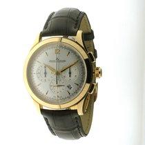 Jaeger-LeCoultre Master Chronograph Or rose 40mm Argent Arabes