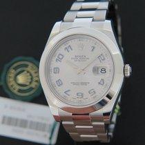 Rolex Oyster Perpetual Datejust II Rhodium Arabic NEW