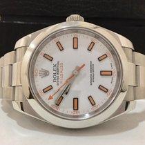 Rolex Milgauss White Dial Completo Impecavel