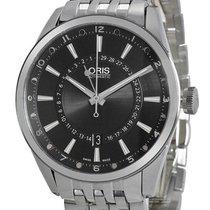 Oris Artix Pointer Moon Date Automatic Steel Mens Watch...