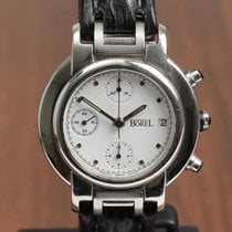 Ernest Borel Chronograph 39mm Automatic pre-owned White