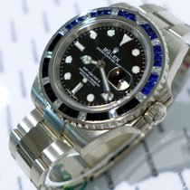 Rolex GMT-Master II Oyster Perpetual White Gold Diamond and...