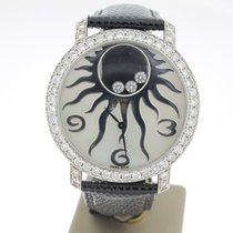 Chopard Happy Diamonds Witgoud 40mm Parelmoer Arabisch