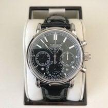 Patek Philippe Platine Remontage manuel Noir 40mm occasion Perpetual Calendar Chronograph