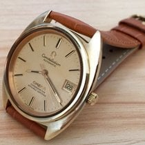 Omega Constellation pre-owned Leather