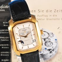 Glashütte Original Senator Karrée Automatik, 18 ct., Ewiger...