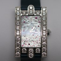 Harry Winston Avenue Classic Cherry Blossom - watch on stock...