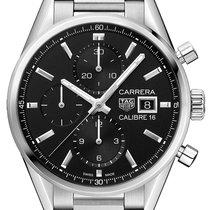 TAG Heuer Carrera Calibre 16 new 2021 Automatic Chronograph Watch with original box cbk2110.ba0715