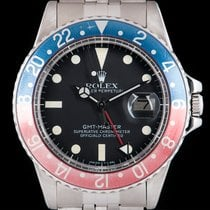 Rolex Rolex GMT-Master 1675 Steel 1978 GMT-Master 40mm pre-owned