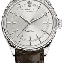 Rolex White gold Cellini Time 39mm new United States of America, New York, Airmont