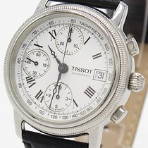 Tissot Chronograph 38mm Automatic 2009 pre-owned Bridgeport White