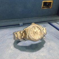 Rolex Lady-Datejust Pearlmaster occasion 29mm Nacre Date Or blanc