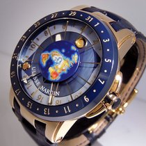 Ulysse Nardin Moonstruck Or rose 46mm Bleu