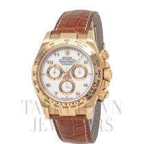 Rolex 116518 Yellow gold Daytona 40mm pre-owned United States of America, New York, Hartsdale