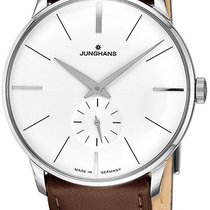 Junghans Meister Hand-winding Steel White United States of America, New York, Brooklyn