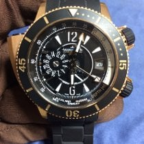 Jaeger-LeCoultre Master Compressor Diving Pro Geographic Rose gold 46mm Black Arabic numerals